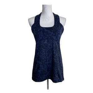 Lululemon Scoop Neck Tank Top Luon Light Inkwell